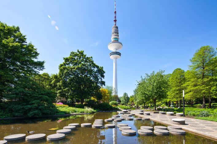 Hamburg kostenlos Heinrich-Hertz-Turm