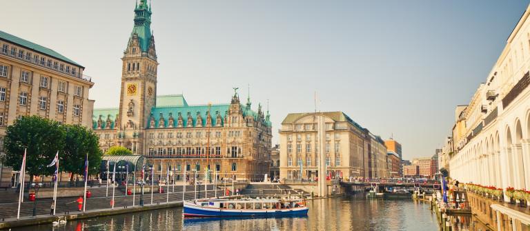 Hamburg kostenlos Rathaus