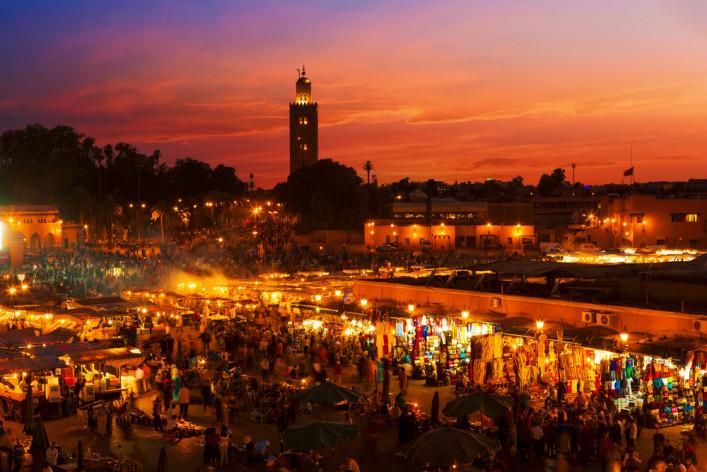 Djeema el-Fna Platz