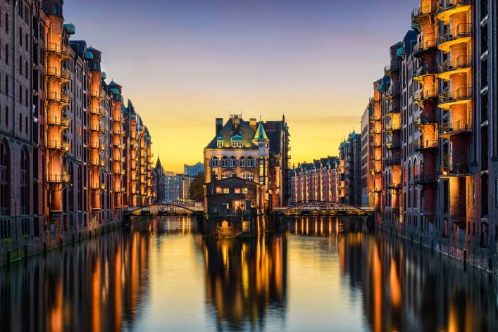 Hamburg kostenlos Speicherstadt