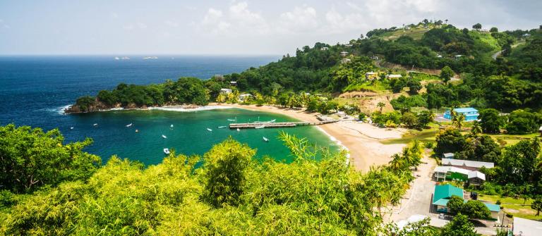 Parlatuvier Bay North Tobago Trinidad & Tobago Caribbean Sea iStock_000023335884_Large-2