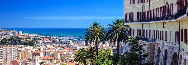 Panorama of Cagliari