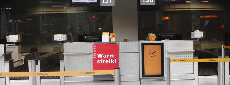 Streik Lufthansa Germanwings München