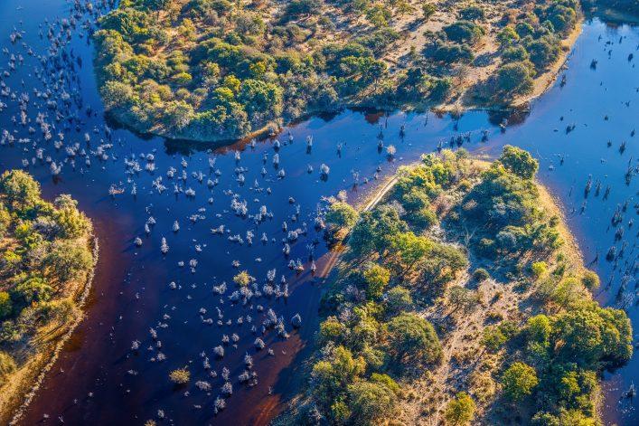 okavango delta botswana shutterstock_425957404