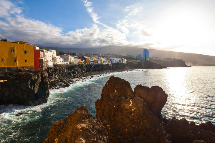 Tenerife, Canary Islands, Puerto de la Cruz, Spain