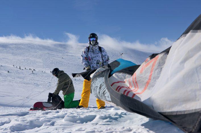 snowkite sport