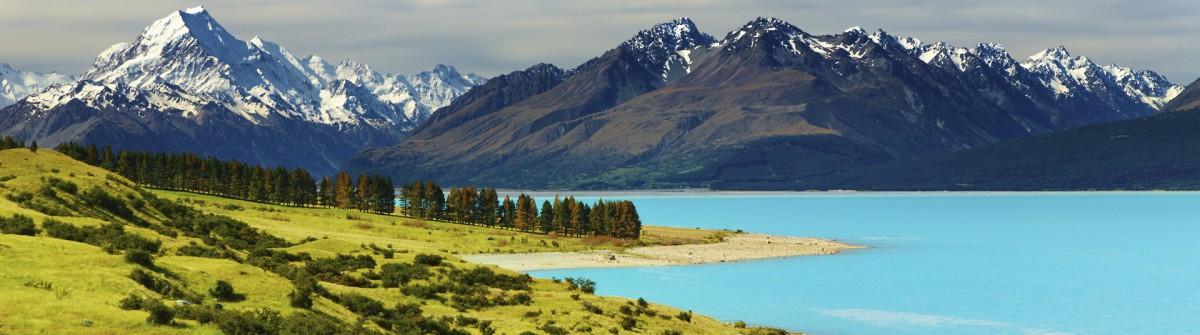 Drehorte der Hobbit Mount Cook Neuseeland
