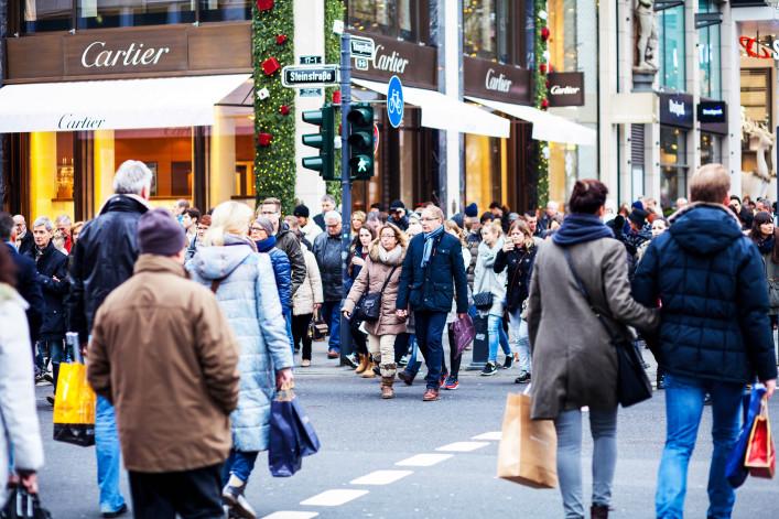 Düsseldorf Tipps Fußgängerzone