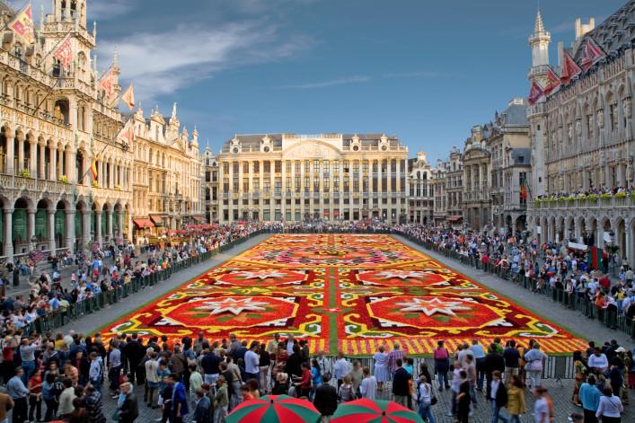 Brüssel Tipps Blumenteppich