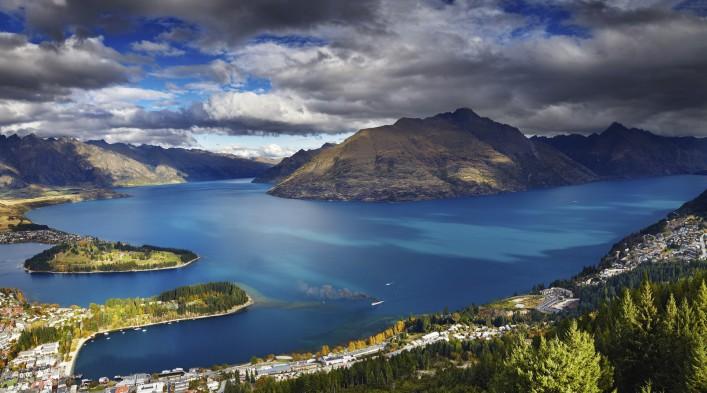 Drehorte der Hobbit Queenstown Neuseeland