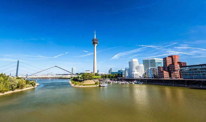 Düsseldorf Tipps Skyline