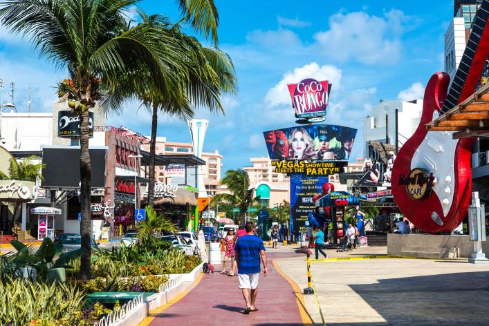 Partystrände Cancun Coco Bongo Cancun