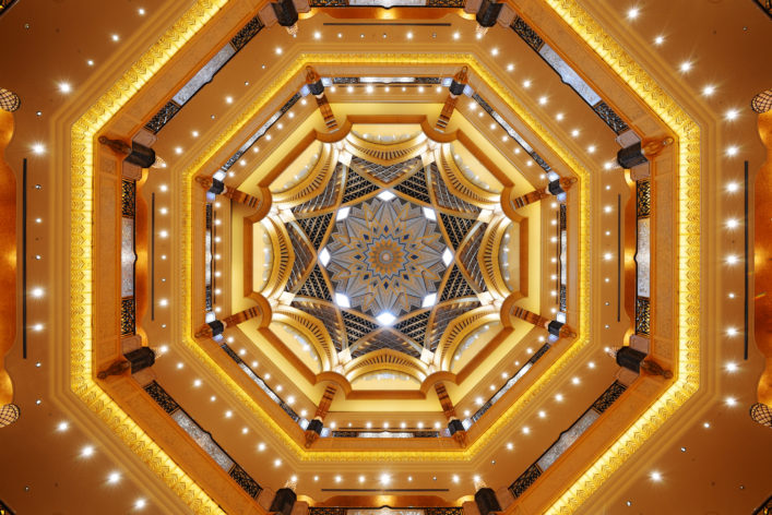 Emirates Palace Abu Dhabi EDITORIAL ONLY alex7370 shutterstock_361550675