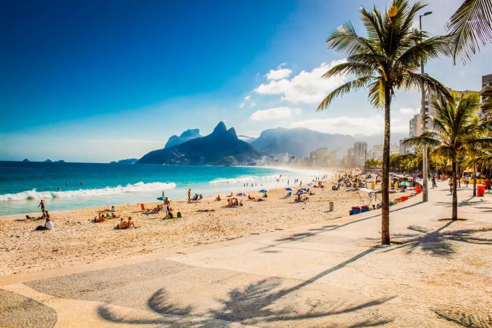 Partystrände Copacabana
