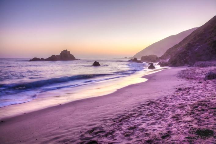 außergewöhnliche strände pfeiffer beach big sur