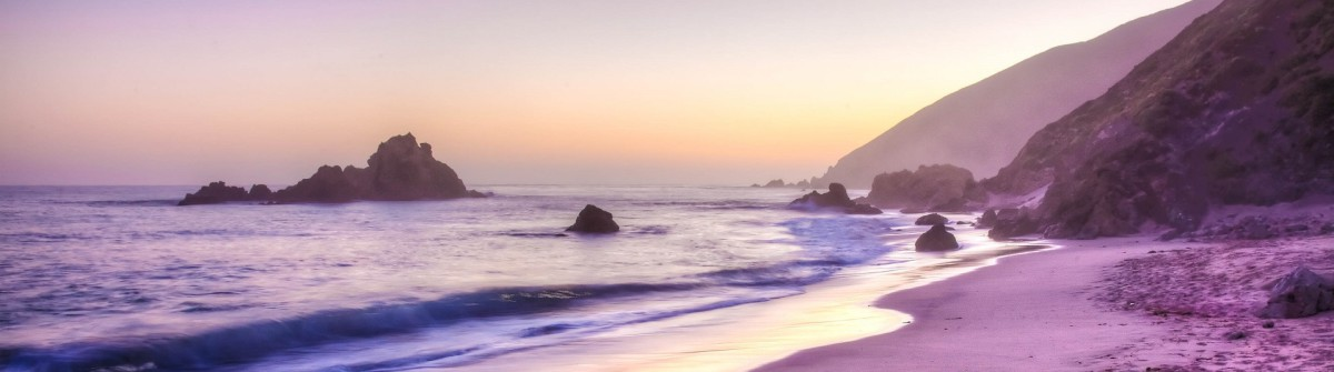 Pfeiffer Beach in Big Sur is an incredibly scenic beach shutterstock_62298538-2a
