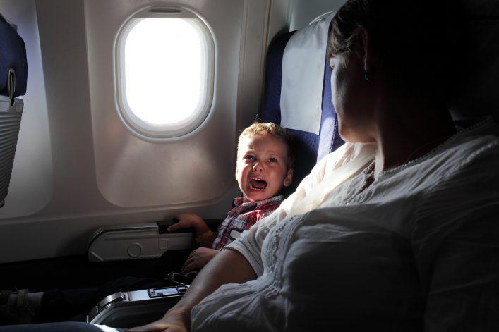 Nervige Passagiere
