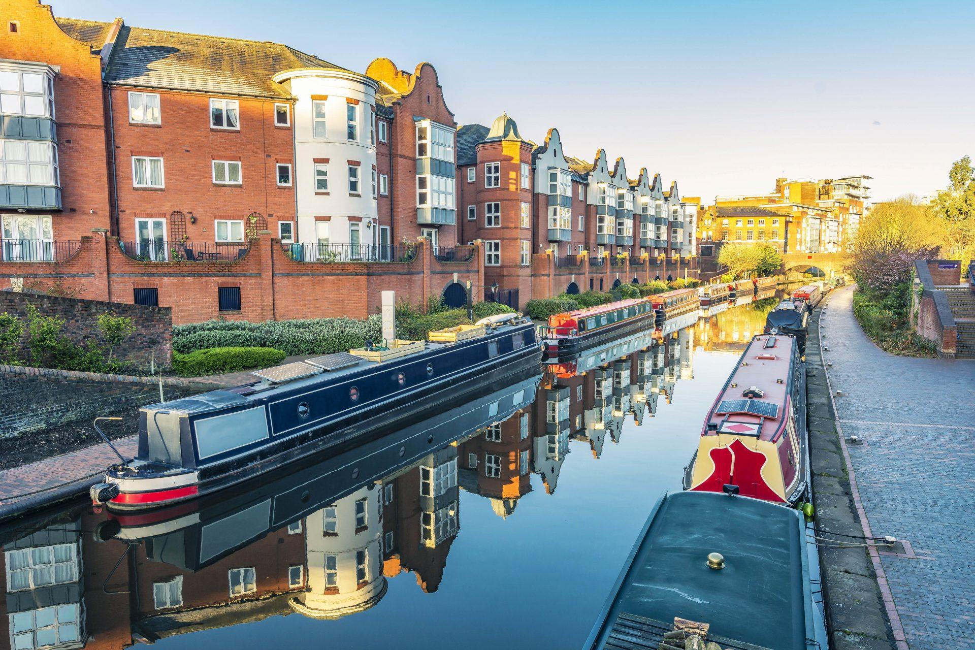 Kanal in Birmingham
