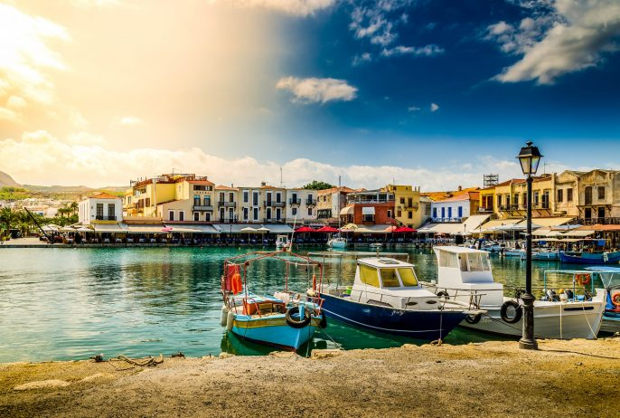 scenery – old venetian port