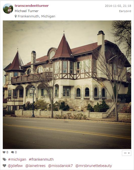 Frankenmuth in Michigan, USA
