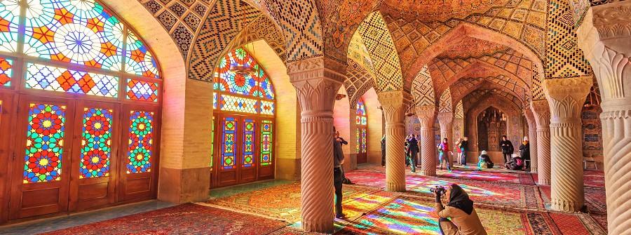 Pinke_Moschee_Iran_Shiraz
