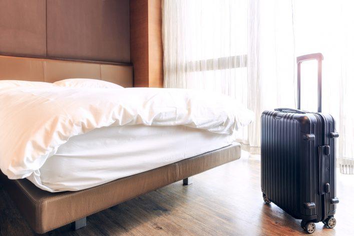 Bettwanzen, Hotel, Gepäck, Reise