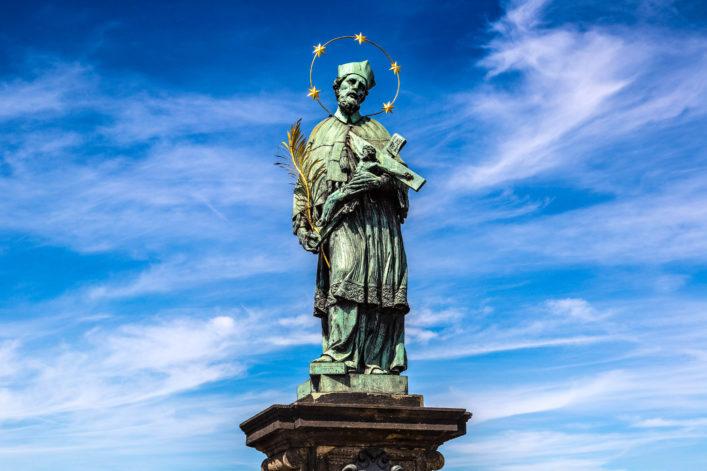Glück, Hl. Johannes Nepomuck, Prag