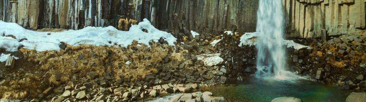 Iceland, Svartifoss shutterstock_478608253