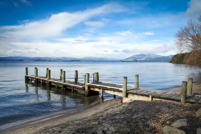 Lake Taupo New Zealand – Omori Jetty