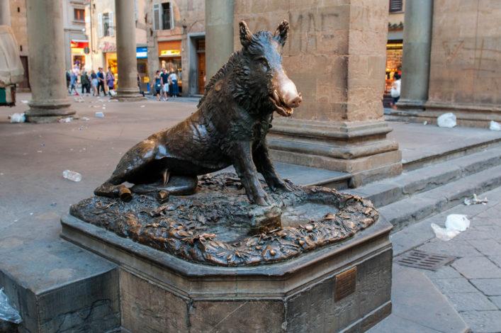 Glück, Il Porcellino Florenz