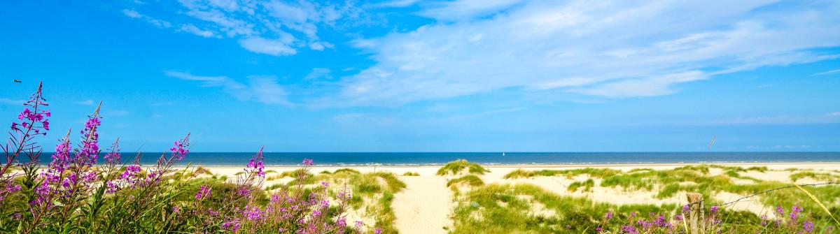 View of Wangerooge Beach