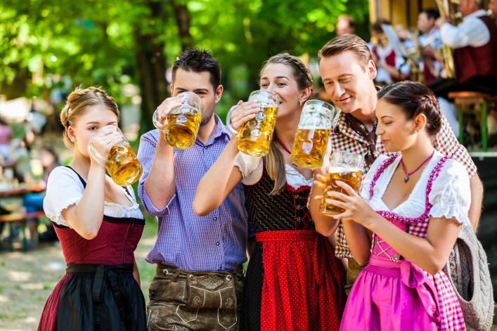 Die beliebtesten deutschen Volksfeste Canstatter Wasen