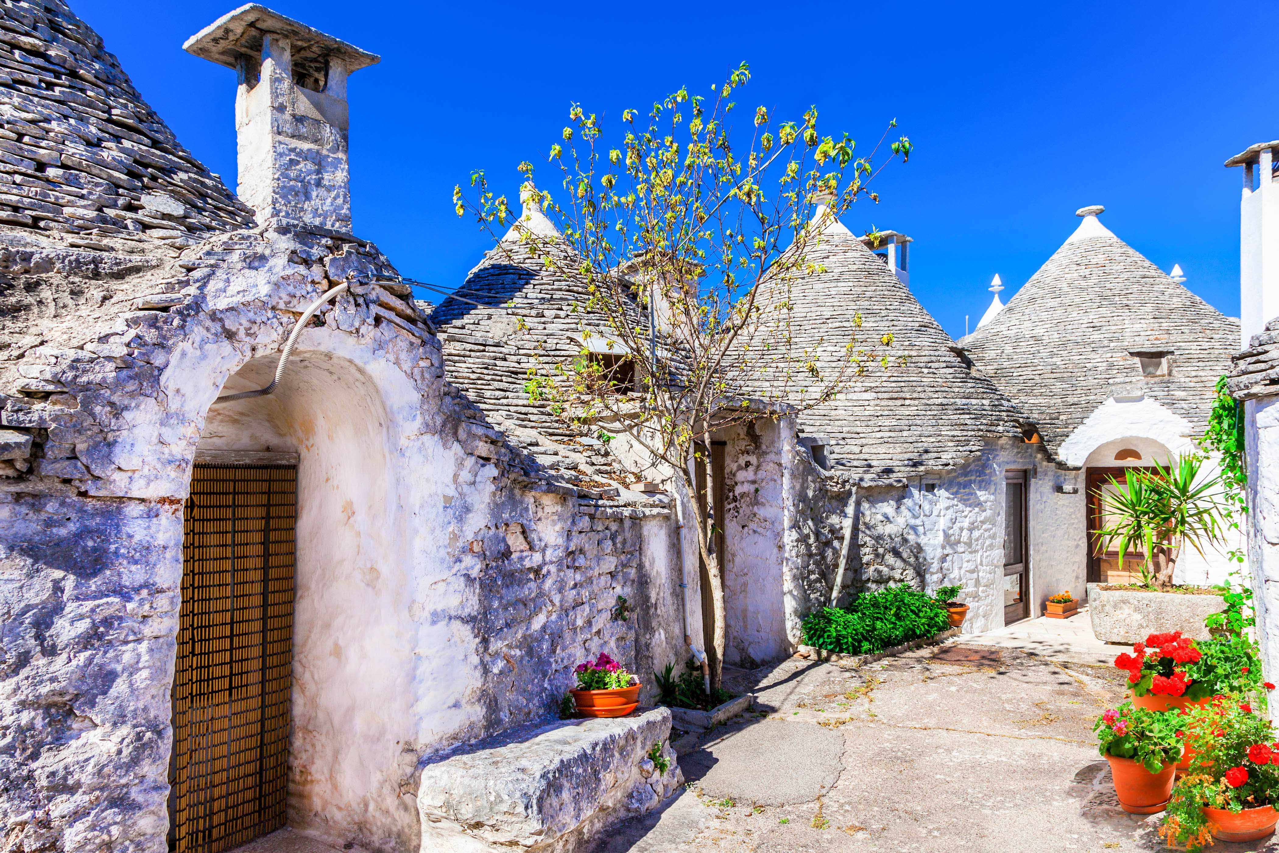 Alberobello in Italien