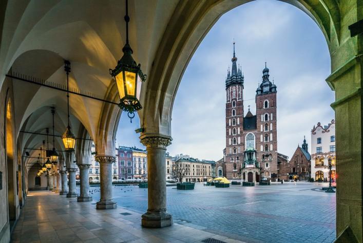 Krakau Tipps Marktplatz Marienkirche Altstadt