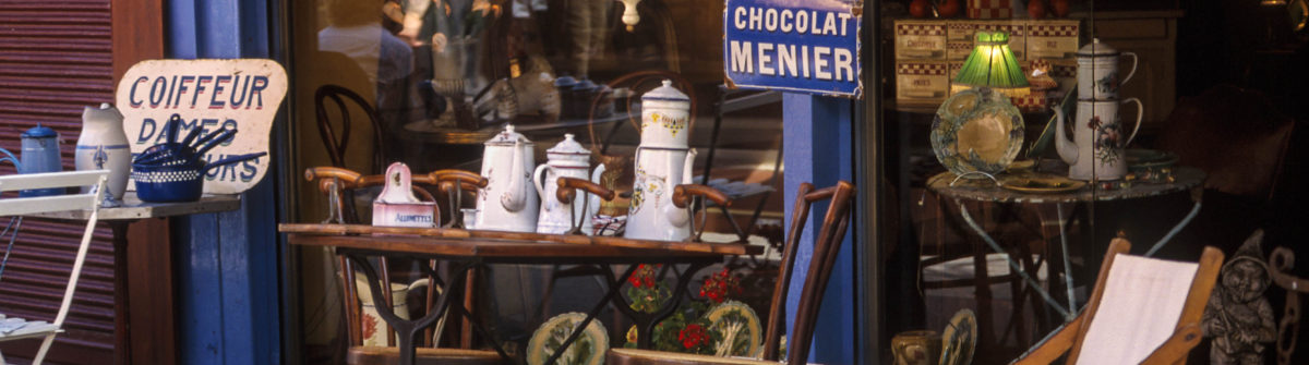 Flohmarkt Puces de St Ouen Paris