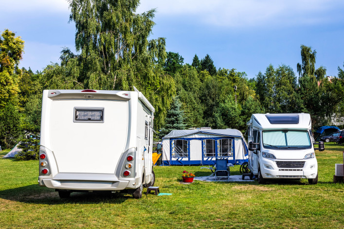 Vacations with motor homes in Poland