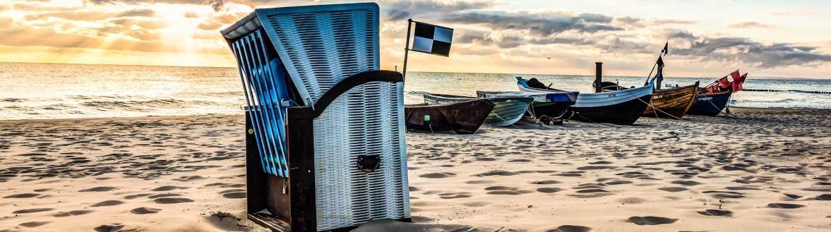 Ostsee Tipps Usedom Boote Strandkorb