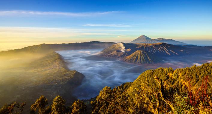 Mount Bromo volcano, East Java, Surabuya, Indonesia