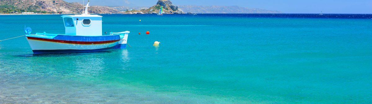 Turquoise Mediterranean sea