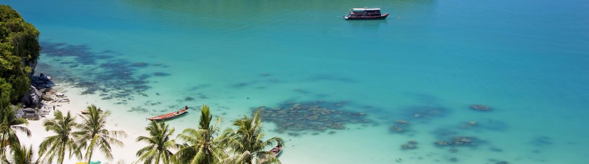 Inseln in Thailand Ko Samui