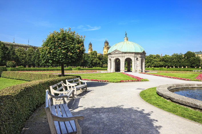 Hofgarten Englischer Garten München Tipps