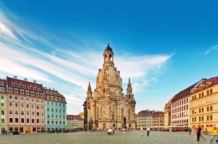 Die beliebtesten Wahrzeichen Deutschlands Dresden