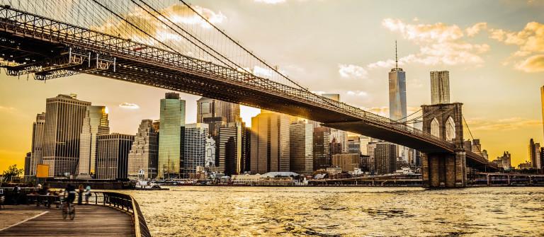 New York kostenlos Brooklyn Bridge