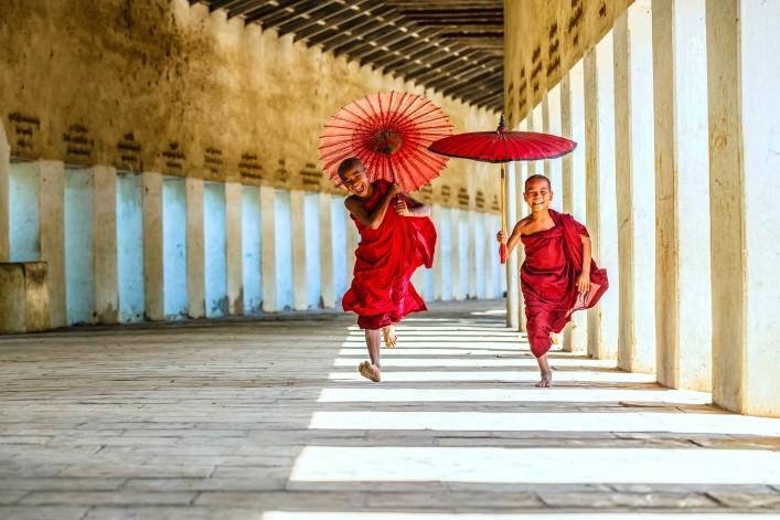 Myanmar Tipps kleine Mönche