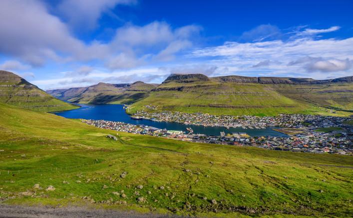 Färöer Inseln Klaksvik