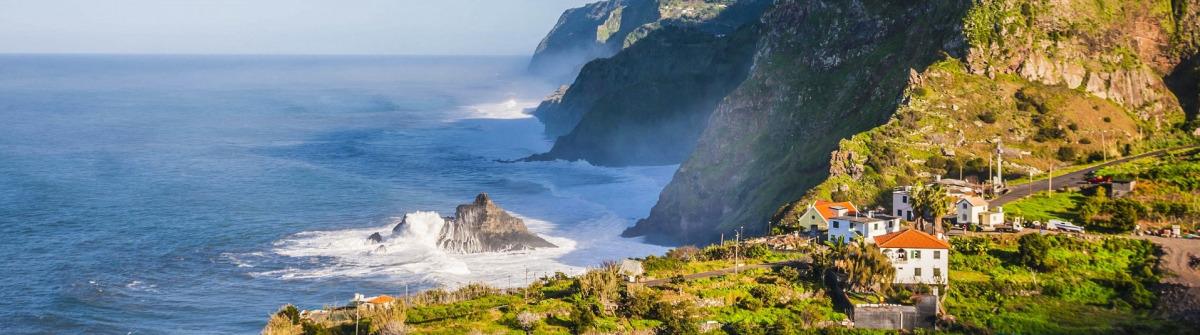 Madeira Tipps Steilklippen Meer Küste