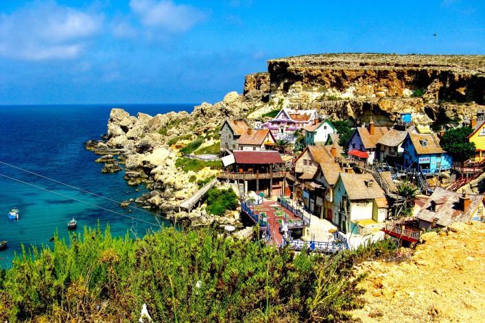 Popeye village in Malta shutterstock_343900811-2