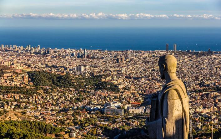 Barcelona Tipps Berg Aussicht