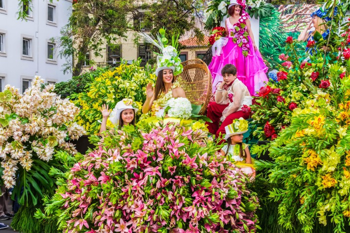 Madeira Tipps Blumeninsel Blumenfest