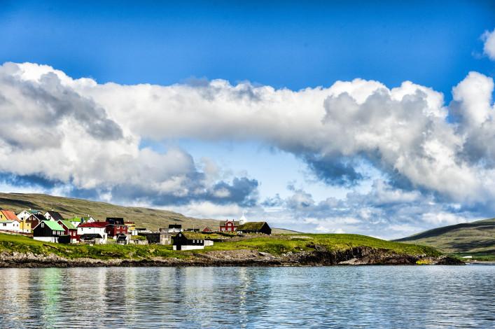 Färöer Inseln Sandoy